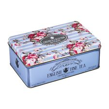 NEW ENGLISH TEAS EARL GREY TEA IN MEMORABILIA GIFT TIN - 100 TEA BAG