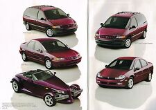 1999 Plymouth Brochure / Catalog: PROWLER,GRAND/VOYAGER,BREEZE + 2000 NEON