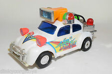 TAIWAN PLASTIC VW VOLKSWAGEN BEETLE KAFER MODERN POLICE WHITE EXCELLENT