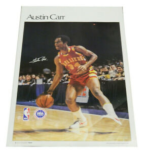 """1977 Sports Illustrated Poster Austin Carr Measures 24"""" X 36"""""""