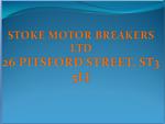 STOKE MOTOR BREAKERS LTD