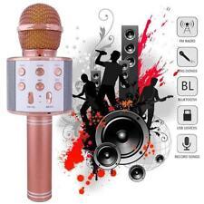 KTV- WS858 Wireless Karaoke Microphone USB Player Bluetooth Mic Speaker Gift