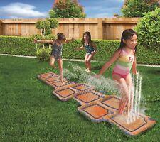 Banzai Wasserpark Wasser Hüpfspiel für Kinder für den Garten - der Sommer kommt!