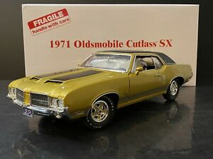 1971 Oldsmobile Cutlass SX Danbury Mint 1/18 HTF
