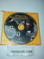 PIRATES OF CARIBBEAN: AT WORLD'S END game disc only - Sony Playstation 3 PS3