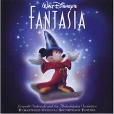 OST/WALT DISNEY'S FANTASIA (LEOPOLD STOKOWSKI)  2 CD 15 TRACKS SOUNDTRACK NEW+