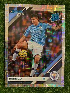 2019-20 Chronicles Donruss Soccer RODRIGO Rated Rookie RC MOJO Squares Man City