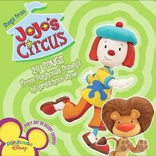 JOJO'S CIRCUS CD SOUNDTRACK NEW SEALED Playhouse Disney 26 Songs