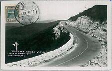 MAXIMUM CARD, POSTAL HISTORY MEXICO: Curva de Mamulique, Monterrey, 1936