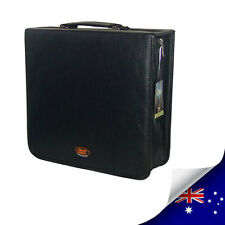 STYLE 256 CDs & DVD WALLET CASE HOLDS - BLACK