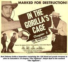 The Vigilante - Classic Cliffhanger Movie Serial DVD Ralph Byrd Ramsay Ames