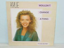 """****KYLIE MINOGUE""""WOULDN'T CHGANGE A THING""""-12""""Inch****"""