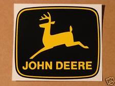 JOHN DEERE 4 inch 2-legged Yellow Deer Computer Cut DECAL Tractor J1994