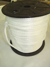 anchor rope dock lines 5/16 x 100  Pure White Polyester  Made In USA