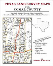 Comal County Texas Land Survey Maps Genealogy History