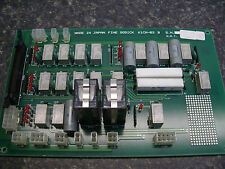 FINE SODICK K1CN-03 B K1CN-06 B PC BOARD NEW WITH A WARRANTY