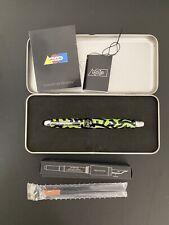 Acme PEN 🖊 Zorbel 5 Rollerball Black Green Retired! + Extras