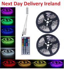 10M 2x5M 5050 RGB 60LEDs LED Strip Lights Lamp 44 Key Kitchen Remote Controller