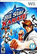All Star Karate (Nintendo Wii, 2010) Disc Only-Free Shipping