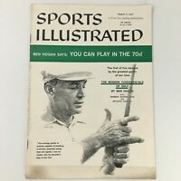 VTG Sports Illustrated Magazine March 11 1957 Ben Hogan Cover Feature, Newsstand