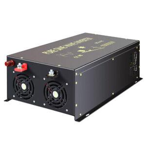 10000W Pure Sine Wave Power Inverter 36V to 110V 120V Car Converter Solar Motor
