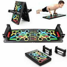 Push Up Power Press Board Stand Muscle Fitness Body Training Exerciser Home Gym