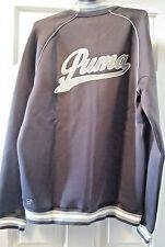 New Puma Script Track Long Sleeve Jacket 2016 GREY  SIZE MED Rudolf Dassler
