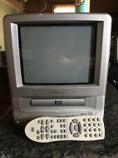 Broksonic Ccvg-297 + Remote * Tv/Dvd Combo * Series A 9� Crt Color