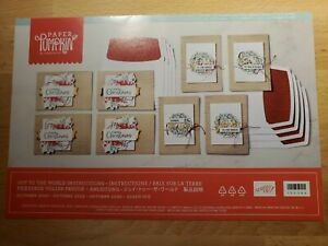 STAMPIN UP PAPER PUMPKIN OCTOBER 2020 JOY TO THE WORLD NEW FULL UNOPENED KIT