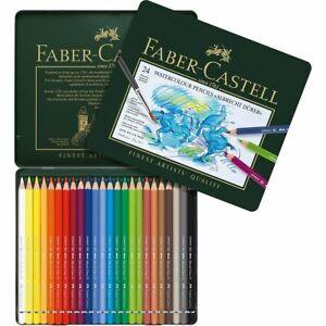 Faber-Castell Albrecht Durer Artisti' Acquerello Matite Teglia Set Di 24 Colori
