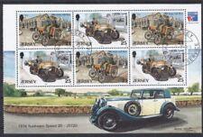Jersey 1999 gestempelt MiNr. H-Blatt_31-34  Alte Automobile