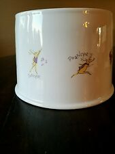 Pottery Barn Reindeer Beverage Drink Dispenser Stand New With Tags Christmas
