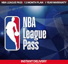 NBA League Pass Premium 2021 - 2022 Full Season Access - International/US