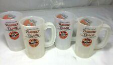 Vintage Set of (4) A W Root Beer Mugs SUPERMUG USA Orange County Costa Mesa, CA