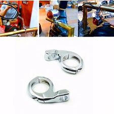 Multi-function Turn Signal Light & Mirrors Clamps Mount Chopper Cruiser Touring