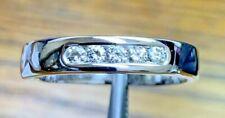 E$tate $6500 Mens Platinum .25ct Diamond Wedding Band Ring R3415