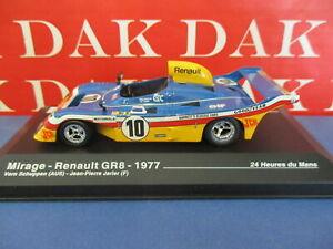 Die cast 1/43 Modellino Auto Mirage-Renault GR8 24H Le Mans 1977