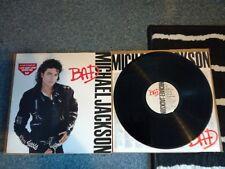 """Michael Jackson - Bad - 12""""lp 1987 A1/b1 ex.con-/ex.con"""