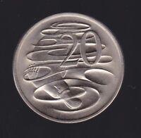 1969  Australia 20 Cent Coin  I-812