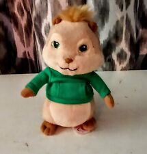 """TY Beanie Babies Alvin and the Chipmunks THEODORE and ELEANOR  6"""" Stuffed TOY"""