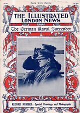 1918 London News Diciembre 14 - Alemán Naval Surrender Special Número