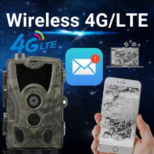 4G MMS Trail Camera Wildlife Hunting Camera HC-801LTE 16MP 0.3S Trigger Camera