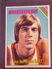 1975 Topps Jan Van Breda Kolff RC #307 Squires NM/MT 001