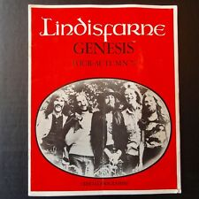 Lindisfarne GENESIS TOUR AUTUMN 1972 Official Programme