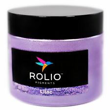 Rolio Mica Powder Lilac 50g - For Epoxy Resin, Candle, Cosmetic Making