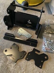 John Deere 1023E,1025R Front Frame Brackets For Quick Hitches
