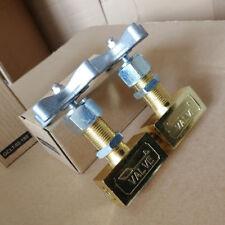 "Needle Valve control globe 1/4"" inch NPT 1000psi brass Oil Gas Pressure Gauge US"