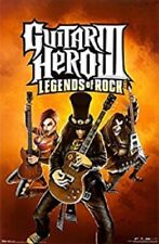 2007 ACTIVISION GUITAR HERO 3 LEGENDS OF ROCK POSTER 22X34 NEW FREE SHIPPING