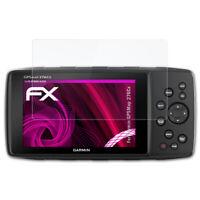 atFoliX Película Vidrio para Garmin GPSMap 276Cx 9H Armadura protectora