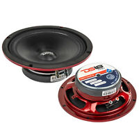 """DS18 PRO-SM8.2 8"""" Motorcycle Midrange Speakers 500W Max 2 Ohm IP66 Rated 2 Pack"""